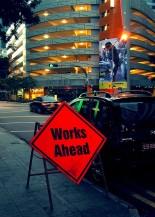 Work Ahead by Riza Nugraha